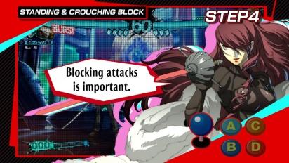 Persona 4: Arena Ultimax - Tutorial 4: Advanced Techniques