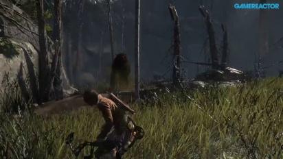 Rise of the Tomb Raider - Bjørnejakt med pil og bue