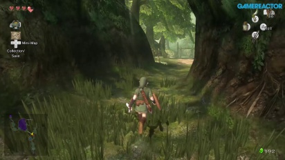 Gameplay: Zelda: Twilight Princess HD - Relaxing Forest Walkaround
