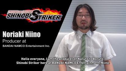Naruto to Boruto: Shinobi Striker - Beskjed fra produsenten