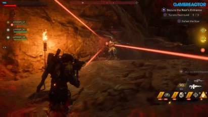 Anthem - Secure the Nest-Gameplay Del 1
