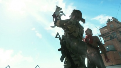 Metal Gear Solid V: Phantom Pain - Diamond Dog Trailer