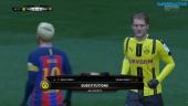 Gameplay - FIFA 17 - FC Barcelona vs. Borussia Dortmund
