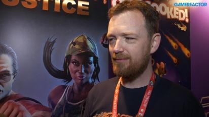 Raging Justice - intervju med Nic Makin