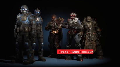 Gears 5 - Operation 1 Characters Trailer