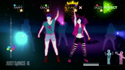 Just Dance 4 - Ke$ha: Die Young - DLC Gameplay