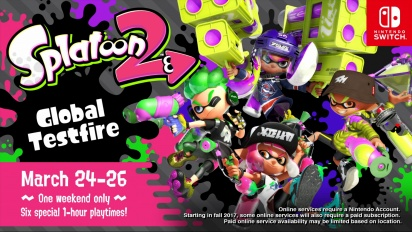 Splatoon 2 - Beta Global Testfire announcement