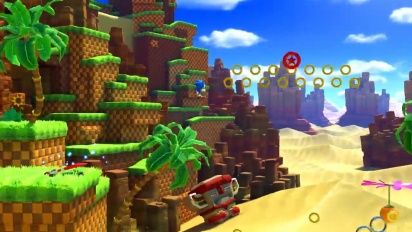 Sonic Forces - Green Hill Zone Gameplay