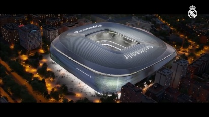 The New Santiago Bernabéu Stadium