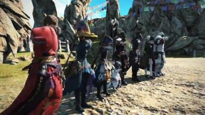 Final Fantasy XIV - Under the Moonlight & Monster Hunter: World Trailer