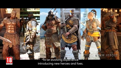 For Honor - Year 5 Reveal Trailer