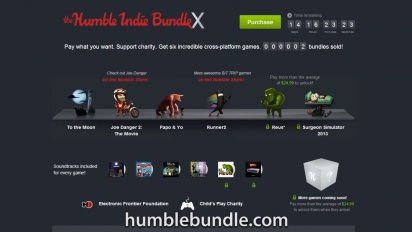 Humble Bundle - Humble Indie Bundle X Trailer