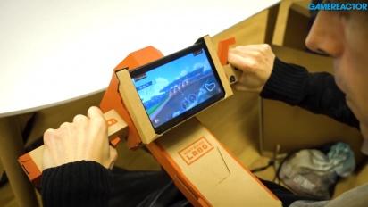 Nintendo Labo: Variety Kit -  Fiskestang og motorsykkel Toy-Con Gameplay