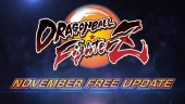 Dragon Ball FighterZ - Free November Update Trailer