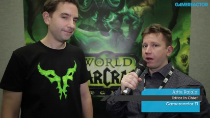 World of Warcraft: Legion - Lead Designer-intervju