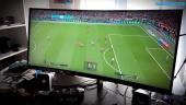 HP OMEN 35 Monitor X PES 2018 - 21:9 Ultravid fotball