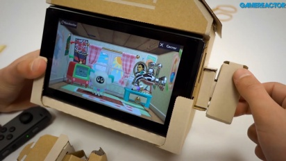 Nintendo Labo: Variety Kit - Hus Toy-Con Gameplay