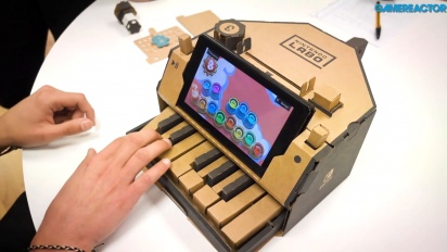 Nintendo Labo: Variety Kit - Piano Toy-Con Gameplay