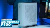 Vi sjekker ut MSI Prestige P100