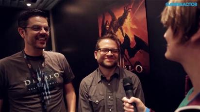 GC 13: Diablo III: Reaper of Souls-intervju