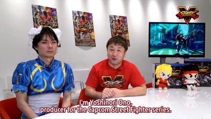 Street Fighter V - Producers Message