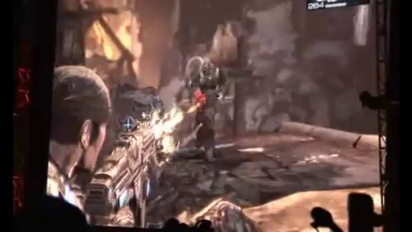 E3 Gears of War 2 ingame
