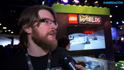 Lego Worlds - Chris Rose-intervju