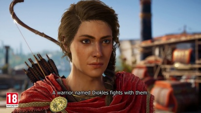 Assassin's Creed Odyssey - E3 2018 Gameplay Walkthrough Trailer