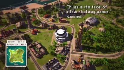 Tropico 5 - PS4 Features Trailer