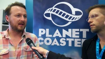 Planet Coaster - Frontier Developments-intervju