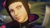 Street Fighter V - Juri Reveal Trailer