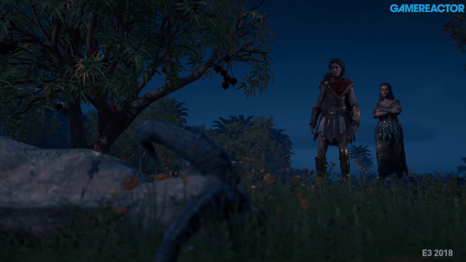 Assassin's Creed Odyssey Fort Combat Gameplay