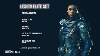 Rainbow Six: Siege - Lesion Elite Set