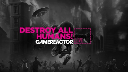 Destroy All Humans! - Livestream Replay