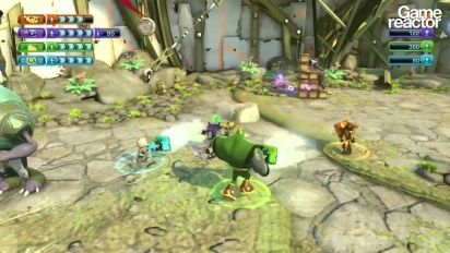 Ratchet & Clank: All 4 One - Co-op Gameplay