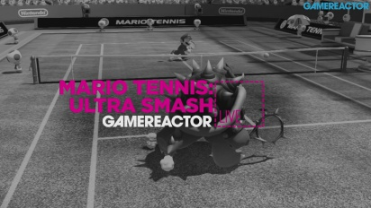 GRTV Live: Mario Tennis Ultra Smash