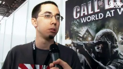 GC08: Call of Duty: World at War Interview w/ gameplay