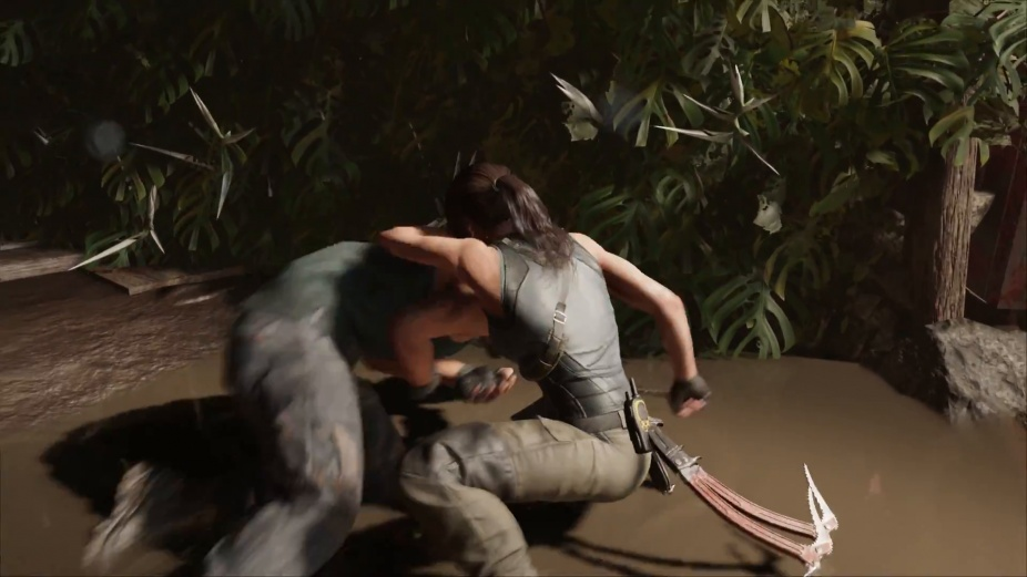 Lara Croft Shows Fighting Techniques In A New Trailer Shadow Of