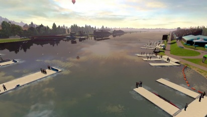 London 2012 - The Official Video Game of the Olympic Games - Dorney Lake Flythrough Trailer