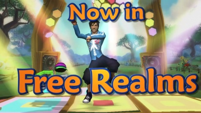 Free Realms - Gangnam Style Dance Moves Trailer