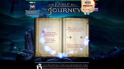 Fable: The Journey - The Web Hexer Trailer