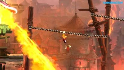 Gameplay: Rayman Legends - Teensies In Trouble - Castle Rock