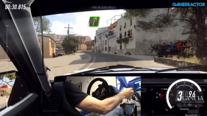 Dirt Rally 2.0 - Asfalt-gameplay med Shifter