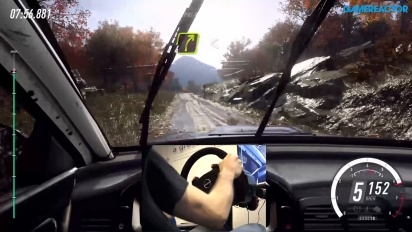 Dirt Rally 2.0 - Gjørme-gameplay med ratt og pedaler