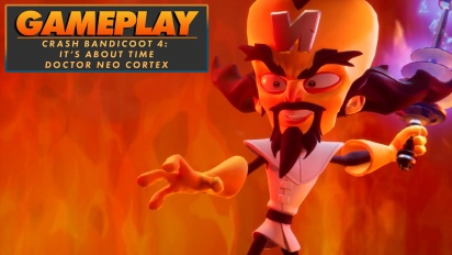 Crash Bandicoot 4: It's About Time - Neo Cortex-gameplay