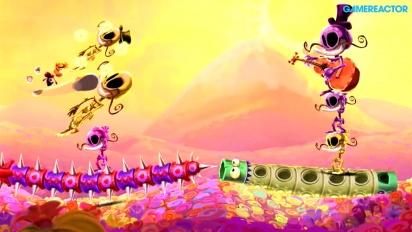 Gameplay: Rayman Legends - Fiesta de los Muertos - Mariachi Madness