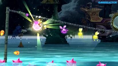Gameplay: Rayman Legends - 20.000 Lums Under The Sea - Gloo Gloo