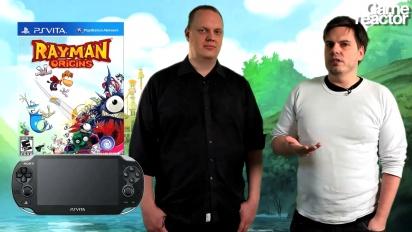 Videoanmeldelse: Rayman Origins PS Vita