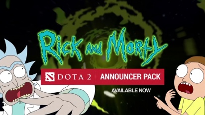 Dota 2: Rick and Morty Announcer Pack Trailer