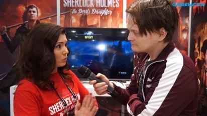 Sherlock Holmes: The Devil's Daughter - Yevheniia Sydorenko-intervju